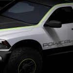 "Mopar Getting Ready for Moab. Chrysler Group LLC's fifth brand is preparing to reveal a truck-load of ""Moparized"" vehicles at the 44th annual Easter Jeep Safari in Moab, Utah which takes place from March 27 through April 4. This sketch shows the Ram PowerWagon: the full-size pickup truck of choice in a range of off-road situations."