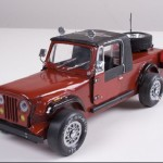 Pine wood Durby CJ8 Jeep