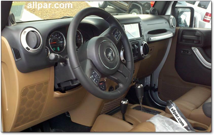 Spy Photos Of The 2011 Jeep Wrangler Interior