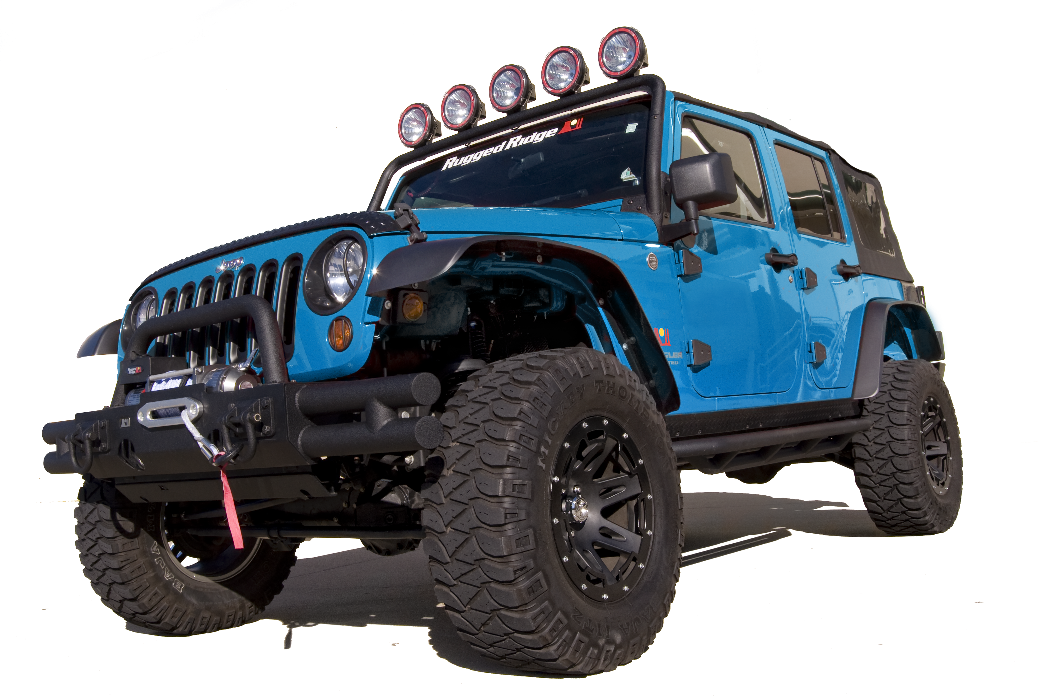 Did You Like The Look Of The Lower Forty Jeep Concept, Where Jeep Reduced  Body Roll By Raising The Fender For Greater Tire Clearance?