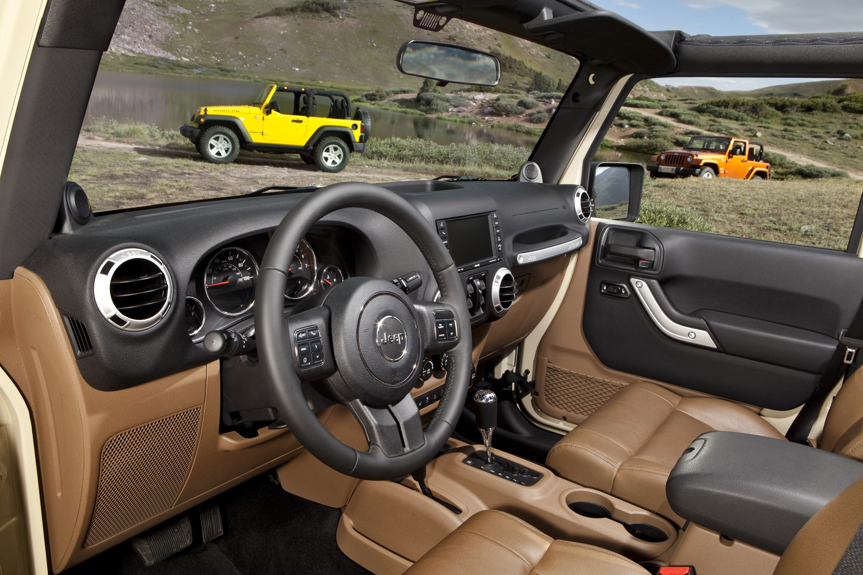 The astonishing 2011 jeep wrangler rubicon picture below, is segment of 2011 jeep wrangler pictures that looks