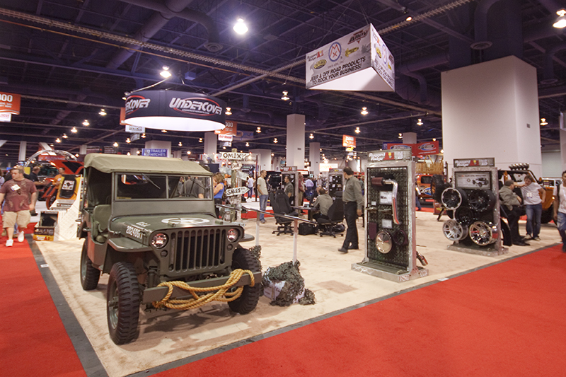Our Sema 2010 Booth