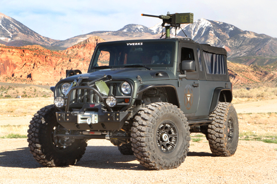 Vwerks Recon Apocalyptic Jeep Jk 8 Pickup