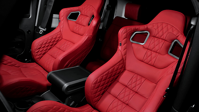 Jeep Wrangler Sport Seats By Kahn