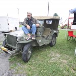 Rick at The Bantam Jeep Heritage Festival