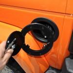 Installing Fuel Door