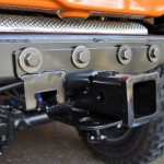Rugged Ridge JK Receiver Hitch Installed