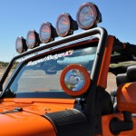 Rugged Ridge JK Windshield Light Bar
