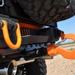 Rugged Ridge XHD Aluminum rear bumper & Monster Hook