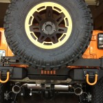 Rugged Ridge Rear XHD Aluminum Bumper with Tire Carrier