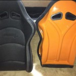 Custom painted ProCar Evolution seats