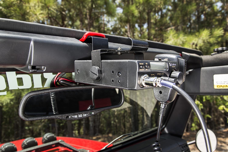 Rugged Ridge adds new CB Radio Mount for 03-06 Jeep Wrangler TJ/LJ ...