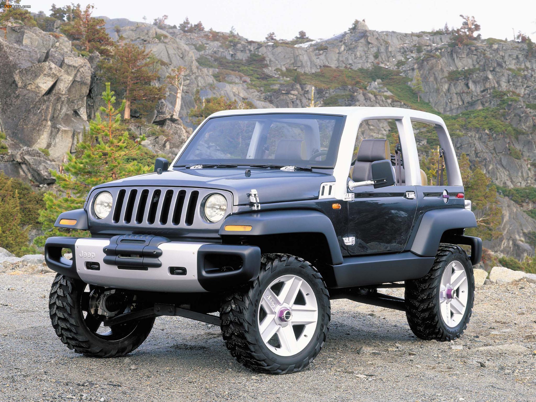 the jeep icon – a 90's concept car that almost became wranglers