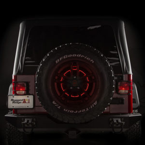 Rugged Ridge's Circular LED Third Brake Light mounts in an adapted position for better visibility, improved safety and great looks. Photo Credit: Rugged Ridge