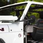 Rugged Ridge Trail Mirrors for Wrangler JL are designed to enhance doors-off enjoyment.