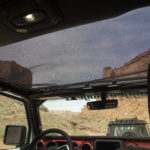 The new Eclipse Sunshade for Wrangler JL allows for top down driving while guarding occupants from harsh sunlight.