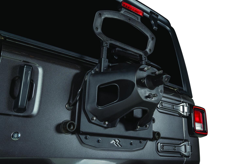 Silver for 2018 Jeep Wrangler JL//JLU Rugged Ridge 11116.21 Hood Catches